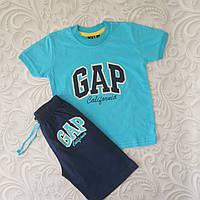 Летний комплект для мальчика  Gap, разные расцветки, фото 1