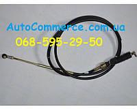 Трос переключения передач КПП Dong Feng 1032 Донгфенг  Богдан DF20, DF25 (шарнир-шарнир)