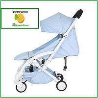 Детская коляска Yoya Care Wider голубая