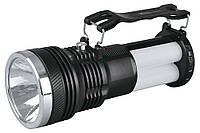 Кемпинговый фонарь YJ-2881T с аккумулятором и солнечной панелью