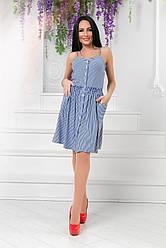 Платье  полоска в расцветках  72789