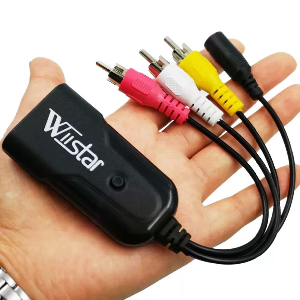 Конвертер (переходник) с цифрового HDMI на аналоговый 3RCA (тюльпан)