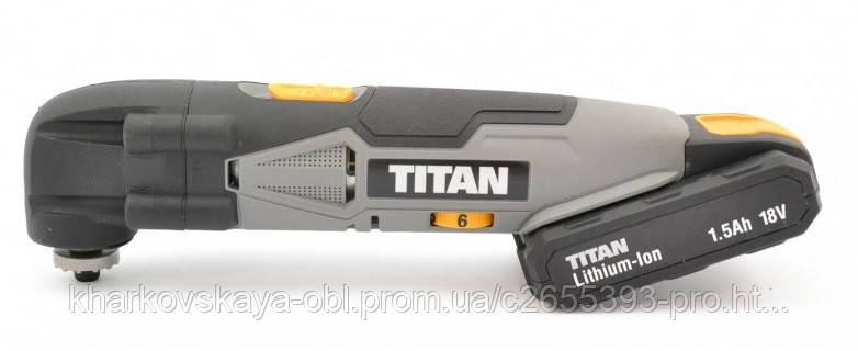 Titan TTI701HTL 18V 1.5Ah Li-Ion аккумуляторный,  из Англии.
