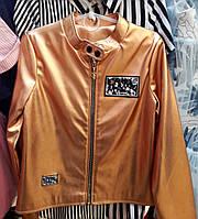 Куртка для девочек из эко кожи (0805/4)