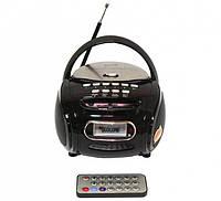 Радиоприёмник портативная колонка Golon RX-186QI с пультом Черный