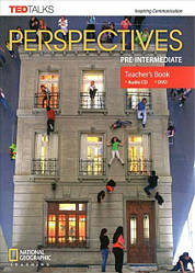 Perspectives Pre-Intermediate Teacher's Book with Audio CD and DVD