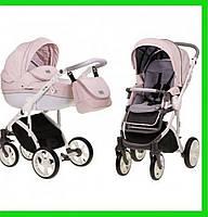 Детская универсальная коляска 2 в 1 Mioobaby Zoom Розовая коляска для новорожденной