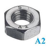 Гайка шестигранная DIN 934 М18 нержавеющая сталь А2 (50 шт/уп), фото 1