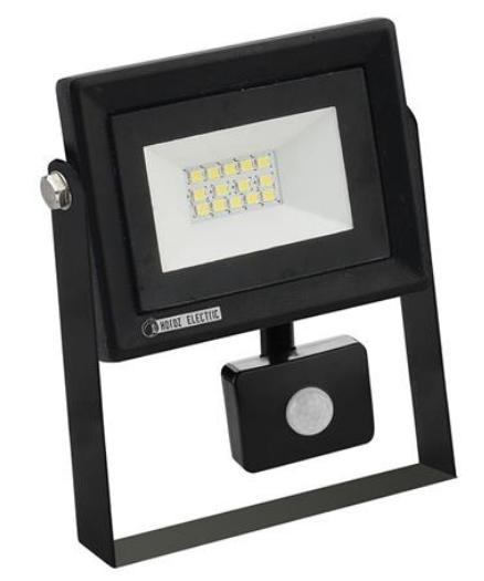Светодиодный прожектор с датчиком движения Horoz Pars/s 10W