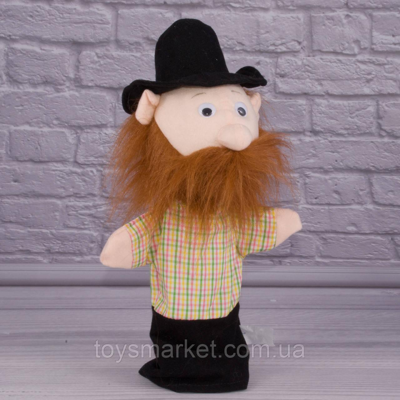 Игрушка рукавичка для кукольного театра Разбойник, кукла перчатка на руку