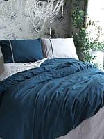 Комплект постельного белья СЕМЕЙНЫЙ LIMASSO OPAL BLUE DOUBLE FACE