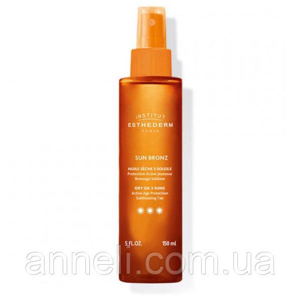 Солнцезащитное масло для тела и волос (спрей ***) 150ml Institut Esthederm
