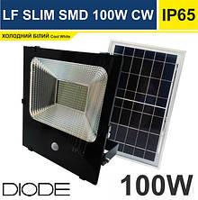 Світлодіодний прожектор на сонянчній батареї