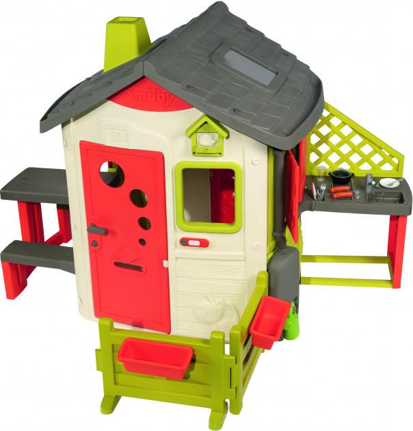 Домик Smoby Toys лесника со ставнями с комплектацией 810500 S
