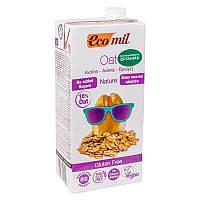 Растительное молоко из овса органическое без сахара и глютена EcoMil, 1л