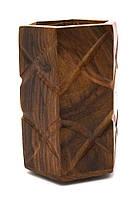 Подставка под ручки розовое дерево (10х6,5х6,3 см)
