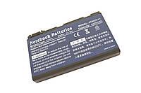 Acer TM00741, 5200mAh, 8cell, 14.8V, Li-ion, черная,