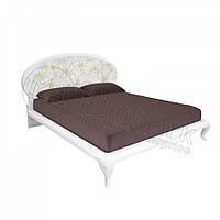 Двоспальне ліжко 160х200 з каркасом у спальню Піонія Міромарк
