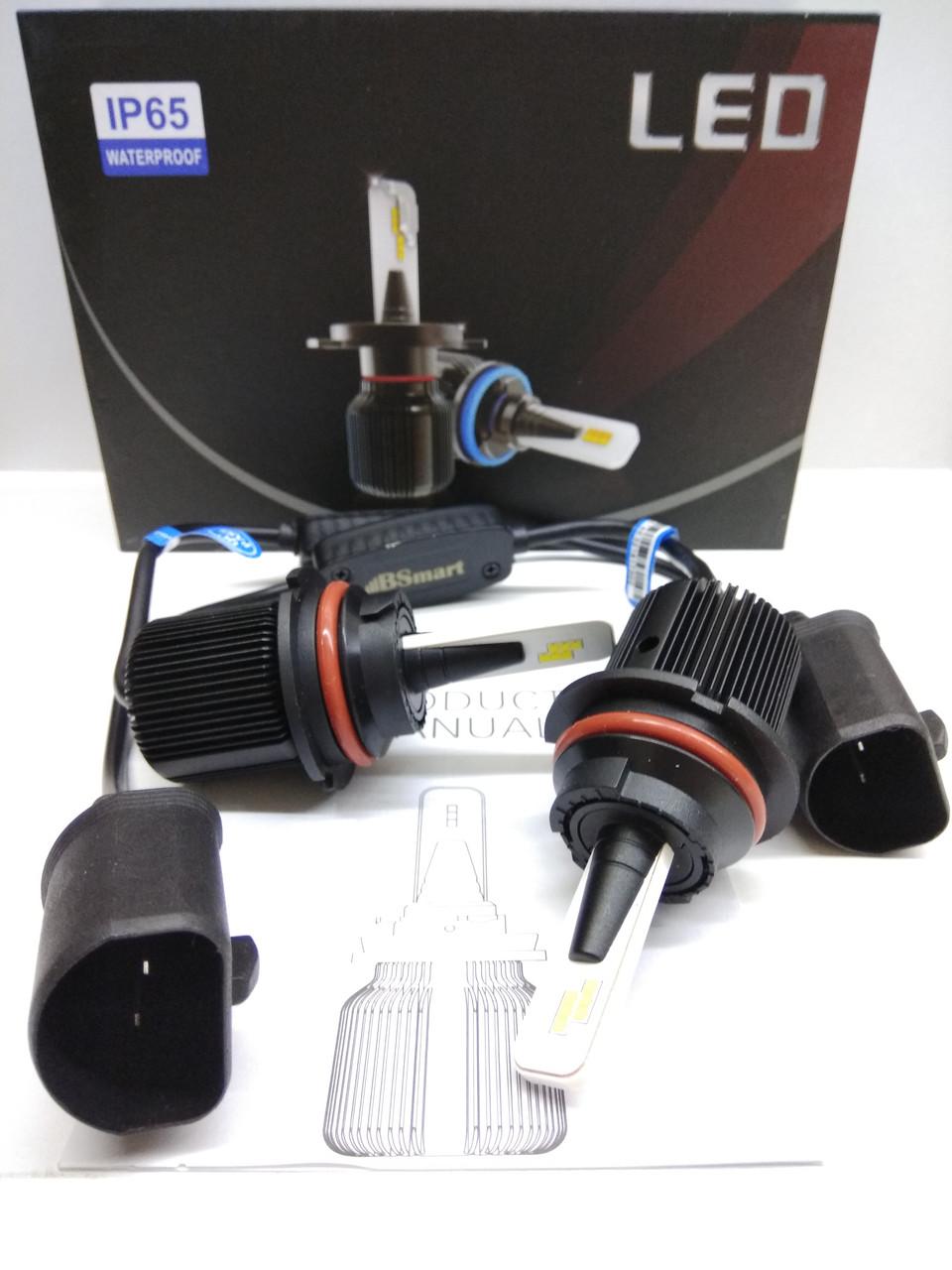 LED светодиодные авто лампы M1 CSP Южная Корея, HB1 9004, 8000 Люмен, 40Вт, 9-32В