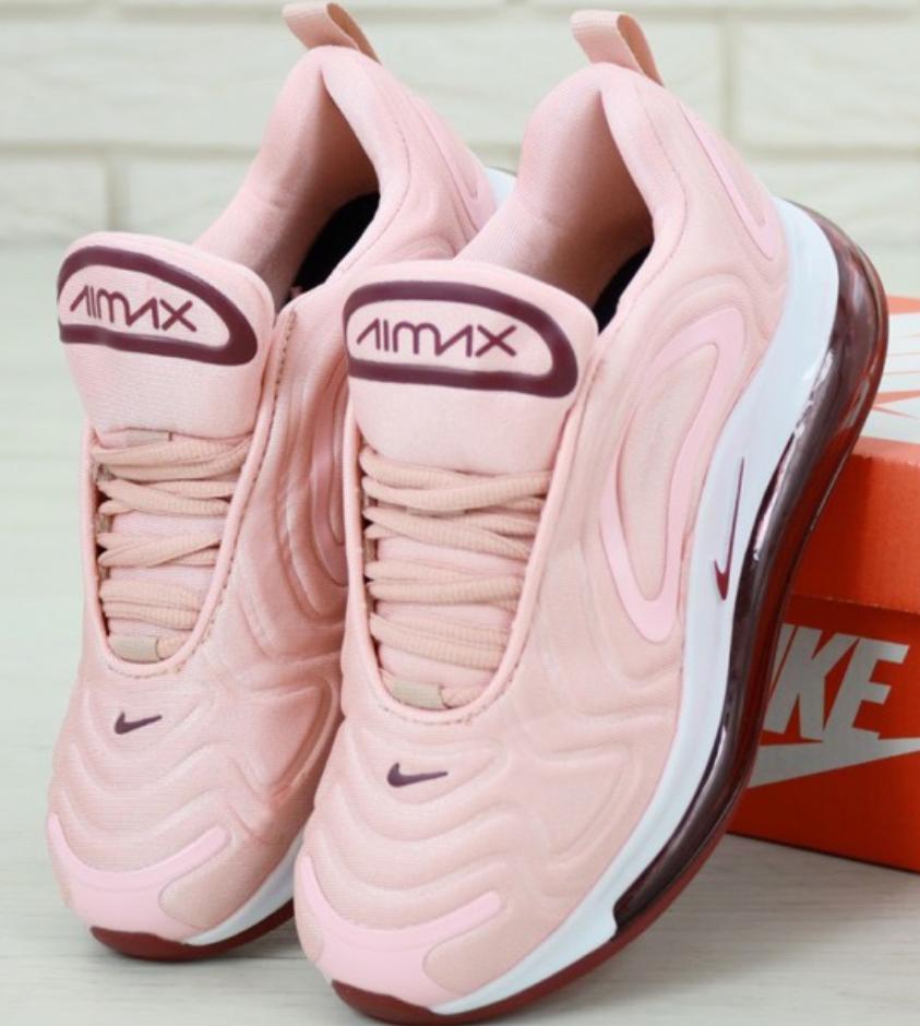 Женские кроссовки Nike Air Max 720 Розовые