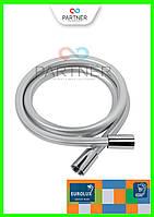Шланг для душа EUROLUX Е-03, ПХВ 150 см, квадратное сечение, стальной(серебро)