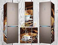 Дизайнерские наклейки на холодильник Кофейная чашка