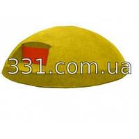 Дорожный буй полимерпесчаный желтый малый Д150
