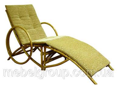 Кресло шезлонг Майами из ротанга