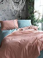 Комплект постельного белья 200x220 LIMASSO MINERAL BROWN DOUBLE FACE