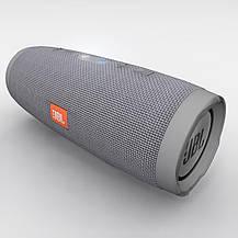 С.Bluetooth колонка Charge 3 серого цвета, фото 3