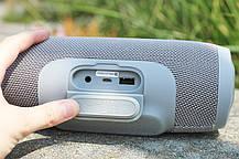 С.Bluetooth колонка Charge 3 серого цвета, фото 2