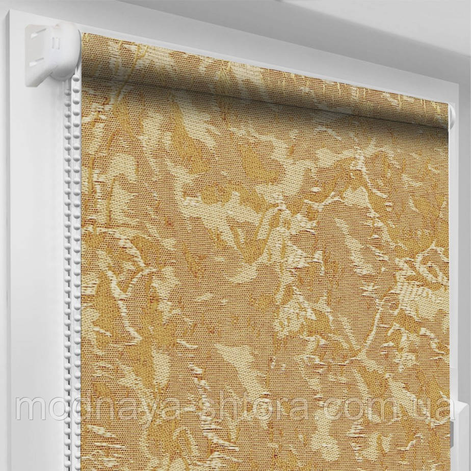 """Тканинні рулонні штори """"Oasis"""" венеція (світло-коричневий), РОЗМІР 42,5х170 см"""