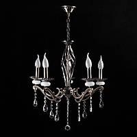 Классическая люстра-свеча на 5 лампочек СветМира PM-3609/5 (античная бронза)