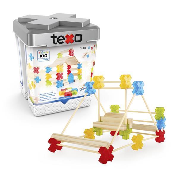 Конструктор Guidecraft Texo, 100 деталей (G9503)