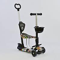 Самокат 5в1 Best Scooter 64020 PU колеса Гарантия качества Быстрая доставка, фото 1