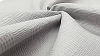 Пике-покрывало серый