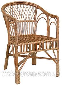 Кресло плетеное из лозы KO-7