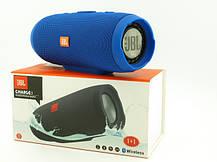 Портативная колонка JBL Charge 3.Bluetooth колонка jbl Charge 3 синего цвета, фото 3