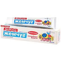 Детская зубная паста Новый Жемчуг Комплекс Волшебные фрукты (50 миллилитров)