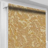 """Тканевые рулонные шторы """"Oasis"""" венеция (светло-коричневый), РАЗМЕР 47,5х170 см"""