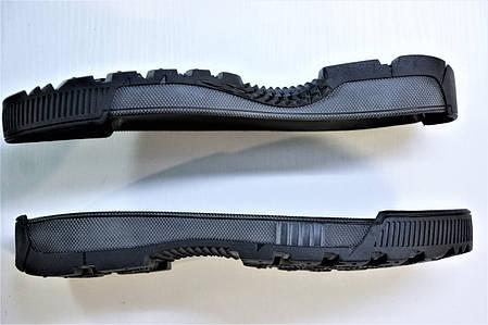 Подошва для обуви мужская Тритон-3 черно-серая. р.40-45, фото 2