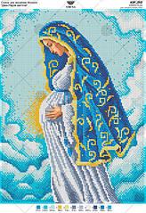 А3Р_252. Схема для вишивки бісером Діва Марія вагітна