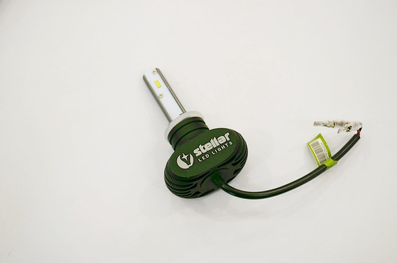 Светодиодные лампы LED Н27 STELLAR S2 серия (компл. 2шт)
