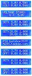 Лабораторный блок питания 0,01mA-2A 0-28V c LCD дисплеем и микроконтроллерным управлением - набор конструктор, фото 4