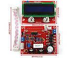 Лабораторный блок питания 0,01mA-2A 0-28V c LCD дисплеем и микроконтроллерным управлением - набор конструктор, фото 5