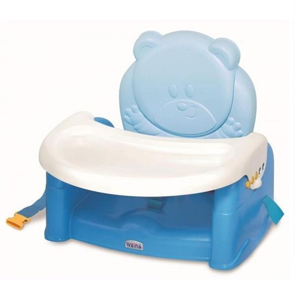 Стульчик-бустер для кормления Weina Teddy Bear, голубой (4019.01)