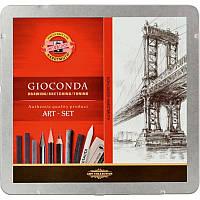 Художественный набор карандашей koh-i-noor 8898 gioconda на 23 предмета