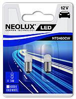 """Светодиодные лампы """"NeoLux"""" T4W LED (WHITE)(12V) 6000К"""