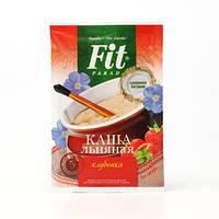 Каша льняная «Клубника со сливками» быстрого приготовления «ФитПарад»