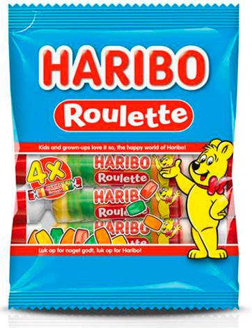 Жевательные конфеты Haribo Roulette 100 g, фото 2